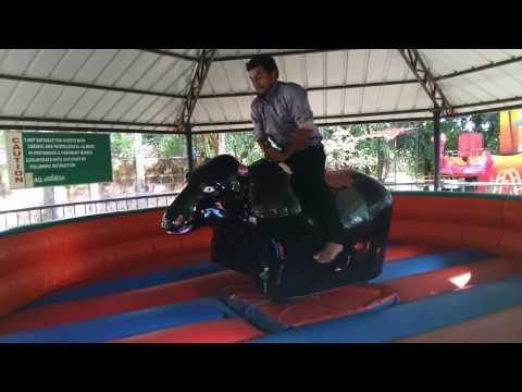 Dowerin Bull Ride .vismaya water park kerala.