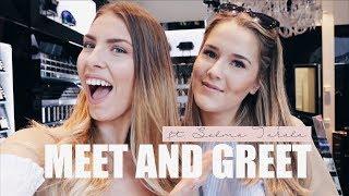 MY DAY // MEET AND GREET 7.6 !! Selma Takala & Linda Ekroth