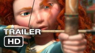Trailer - Brave Official Trailer #1 - New Pixar Movie (2012) HD
