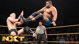 Keith Lee vs. Marcel Barthel: WWE NXT, Aug. 8, 2018