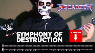 Megadeth - Symphony Of Destruction (Guitar Cover by Masuka W/Tab)