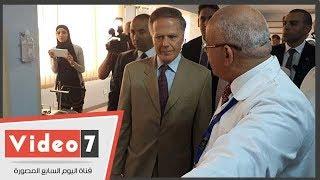 الحكومة الإيطالية توافق على افتتاح مستشفى إيطالى جديد فى بورسعيد 28 أغسطس
