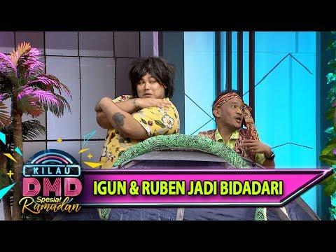 Ngakak! Yaampun Kelakuan Igun&Ruben yg Kebelet Jadi Bidadari - Kilau DMD (185)