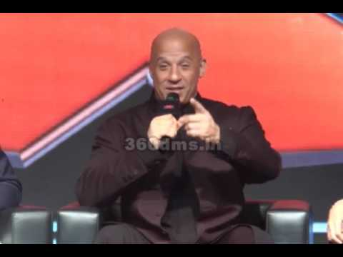 XXX-RETURN OF XANDER CAGE  Actor Vin Diesel Says, Thanks to my All fans