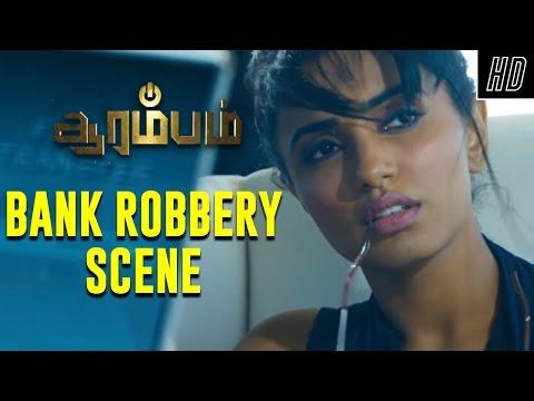 Xxx Mp4 Bank Robbery Scene Arrambam Scene Ajith Arya Nayantara Yuvan Shankar Raja 3gp Sex