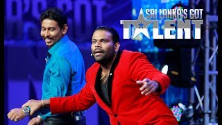 Hannibal the Magic Warrior with T M Dilshan   Sri Lanka's Got Talent Audition 01