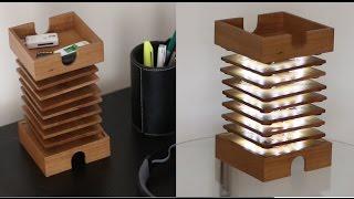 D.I.Y Decorative Coaster Lamp!
