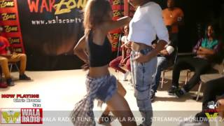 Hip Roll Battle PART 2 Simone VS Taty@ DA WARZONE!!! I KNOW I KNOW!!