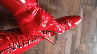 Red Ballet Boots