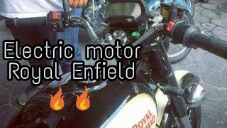 New Electric Royal Enfield !!
