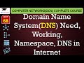Download Video Download Domain Name System(DNS) – Need, Working, Namespace, DNS in Internet(Hindi, English) 3GP MP4 FLV