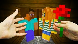 REALISTIC MINECRAFT - STEVE GETS A GIRLFRIEND! ❤️