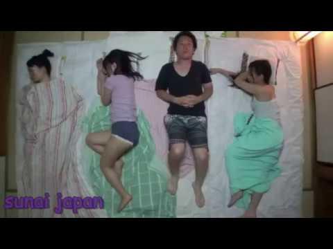 Japan Male Friends Sleep Overnight