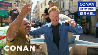 Conan's Message To The People Of Israel & Palestine  - CONAN on TBS