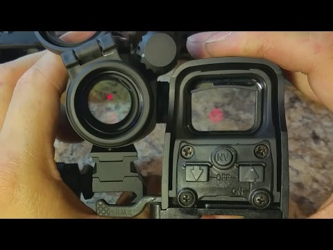 Aimpoint PRO Unboxing and Review vs EOTech 2015 Which Red Dot Sight is Best for You