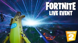 """FORTNITE SEASON 10 LIVE EVENT """"THE END"""" OFFICIAL VIDEO (CHAPTER 2)"""