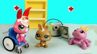 LPS Baby Bunny Born - Mommies Part 39 Littlest Pet Shop Series Movie LPS Mom Babies Bulldog