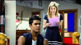 Rebelde -  Alice faz uma pequena declaração de desculpas a Pedro e eles se beijam