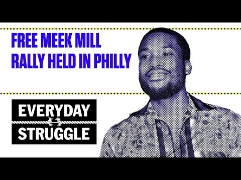 Xxx Mp4 Free Meek Mill Rally Held In Philly Everyday Struggle 3gp Sex