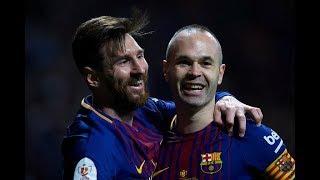 أهداف مبارة برشلونة 5 - 0 اشبيلية - نهائى كأس الملك - الأهداف كاملة