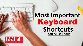 Time saving Most important Computer keyboard shortcuts keys You Must Know