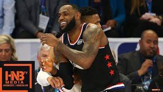 Team LeBron vs Team Giannis 3rd Qtr Highlights   2019 NBA All Star Game