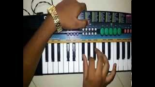Chandan jali raat song on piano