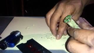 Glass Blunt; Smoking Cannabis