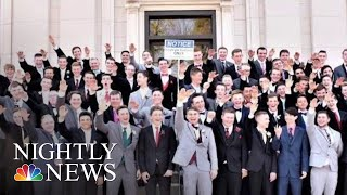 High School Students Appear To Give Nazi Salute In Photo   NBC Nightly News