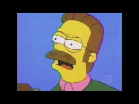 Ned Flanders Calm down diddly