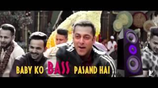 Baby Ko Bass Pasand Hai Full Video Song Sultan By Kundan Singh