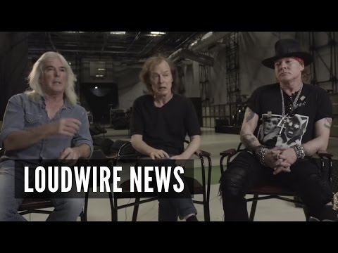 AC/DC and Axl Rose Comment on Brian Johnson Situation