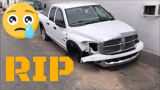 I Got Into An Accident And Totalled My Truck 😰