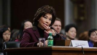Elaine Chao has fairly easy confirmation hearing