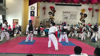 Tang Soo Do National 2018- Jordy Chai vs Tock Thye Jen
