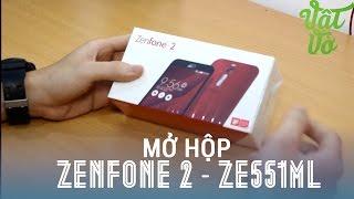 [Review dạo] Mở hộp & đánh giá nhanh Asus Zenfone 2 ZE551ML: 5.5