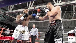 """Fight 11: James 'The Beast"""" Wilson  Vs Tussi 'The Assassin' Asafo - ABA Stadium"""