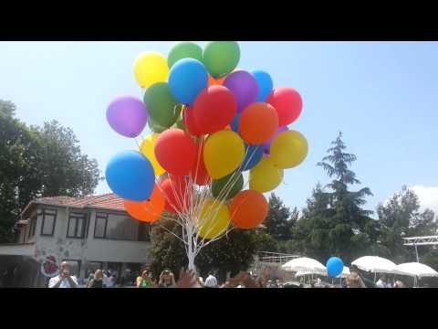 işgören organizasyon, uçan balon