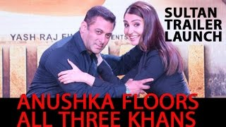 Salman Khan, Anushka Sharma's fun 'Sultan' promotion