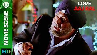 Rishi Kapoor has a different angle   Love Aaj Kal   Movie Scene
