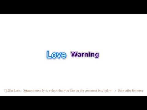 Download Love warning lyrics free