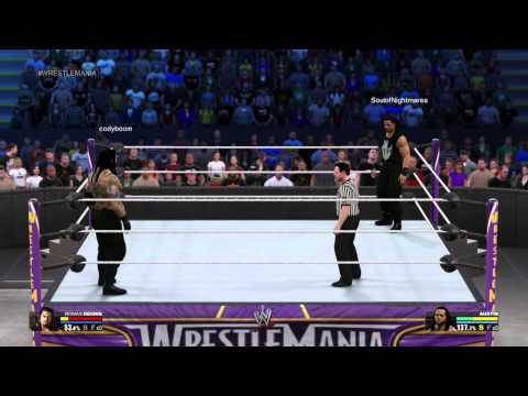 Xxx Mp4 Roman Reigns Vs Fake Roman Reigns WWE 2K15 3gp Sex