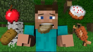 If You Couldn't Eat Food - Minecraft