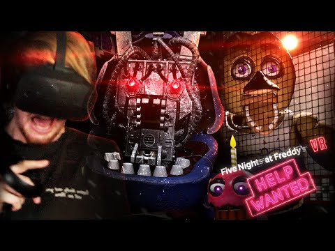 Xxx Mp4 FNAF IN VR I CAN NOT HANDLE THIS FNAF VR Help Wanted Part 1 3gp Sex