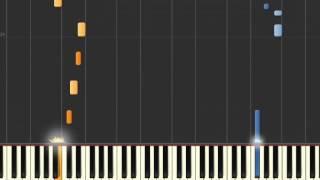 How to Play Teletubbies Theme Tune Synthesia (70-100%) Slow Tempo