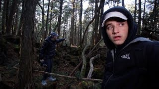 We flew to Japan to explore the Aokigahara Suicide Forest (Warning: Extremely Scary)