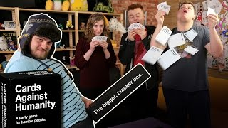 CARDS AGAINST HUMANITY! w/ Red, Preston, Emily and Dan!