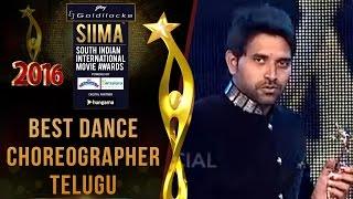 Siima 2016 Best Dance Choreographer Telugu   Jani Master - Temper