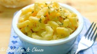 No Bake Mac and Cheese - 4 Basic Ingredients