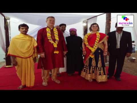 INDIAN REMOTE VILLAGE HOSTS AMERICAN COUPLE'S MARRIAGE